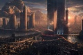 Картинка city, future, space