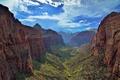 Картинка река Вирджиния, Zion National Park, Национальный парк Зайон, Юта, каньон Зайон