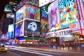 Картинка Таймс-сквер, нью-йорк, ночь, огни, реклама