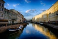 Картинка улица, street, канал, canal, Town, здания, город