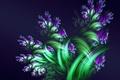 Картинка Цветы, листья, букет