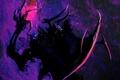 Картинка фиолетовый, демон, арт, Por-t-falatron, Demonologic