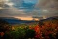 Картинка горы, природа, Virginia, фото, пейзаж, осень, лес, США
