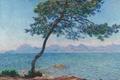 Картинка море, пейзаж, картина, Клод Моне, Горы Эстерель