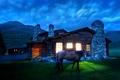 Картинка лошадь, свет, Дом