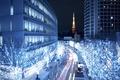Картинка Токио, Tokio, столица Японии, ночной город, город