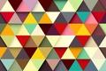Картинка colors, фон, abstract, colorful, треугольники, абстракция, background
