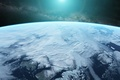 Картинка звезды, арт, Scott Richard, планета, космос, атмосфера