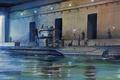 Картинка ww2, painting, submarinee, U-Boot, war, art