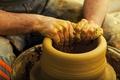 Картинка clay, pottery, technique, hands