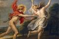 Картинка картина, мифология, Корнелис де Вос, Аполлон и Дафна