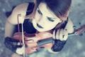 Картинка инструмент, Beatriz Lopes, смычок, скрипка, скрипачка