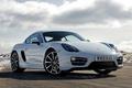 Картинка красавец, обои, порше, Porsche, передок, Cayman, авто, небо
