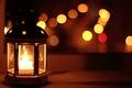 Картинка свет, ночь, огни, свеча, вечер, окно, фонарик, фонарь, боке, Ikea